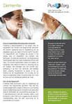 Meer informatie over dementiezorg bij PlusZorg